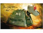 "John Leeson ""K9"" DOCTOR WHO 10x8 Genuine Signed Autograph COA 114416"